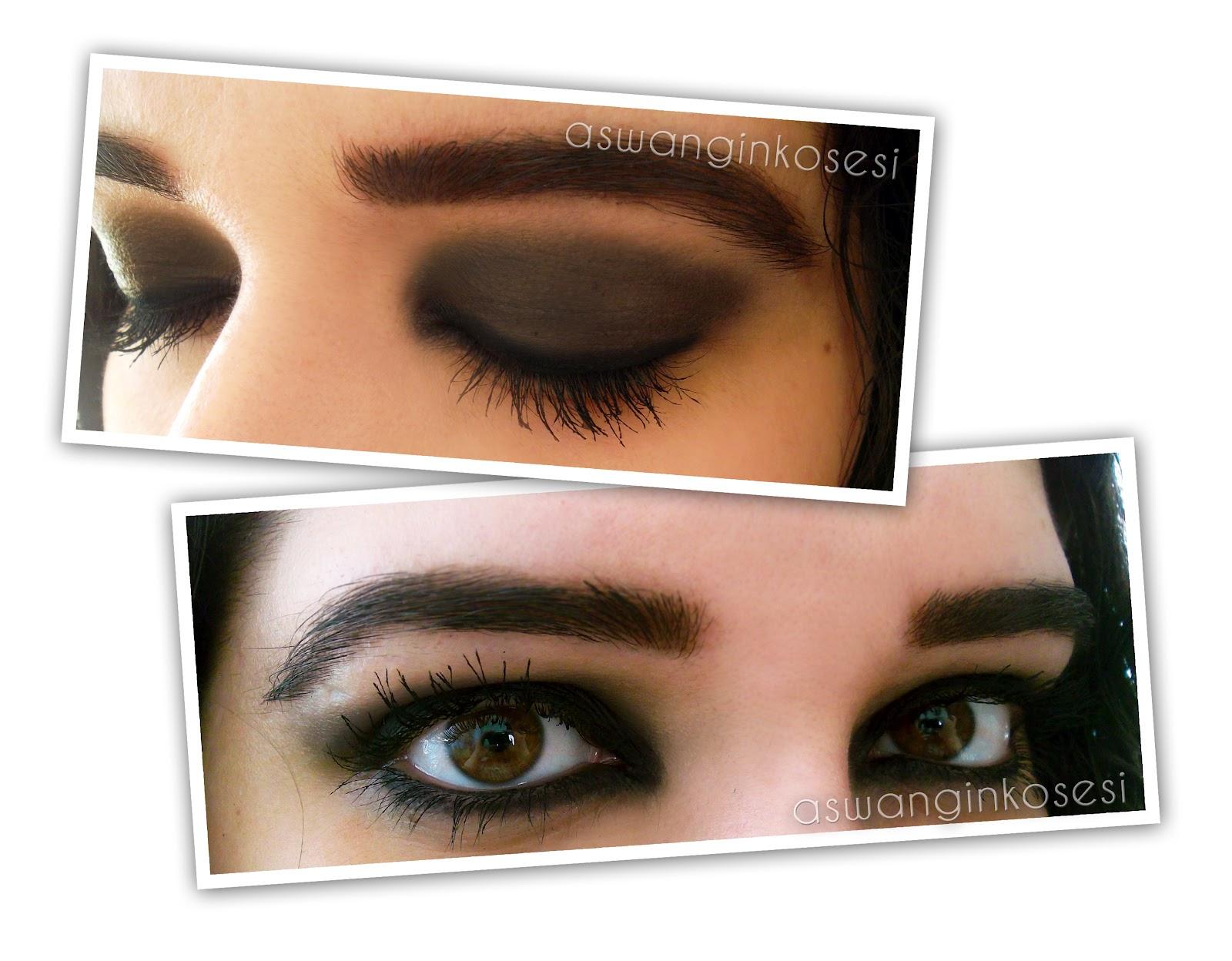 flormar smokey eyes carbon black