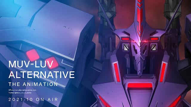 Muv-Luv Alternative: The Animation, fecha de estreno y nuevo tráiler