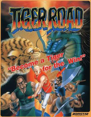 Portada videojuego Tiger Road