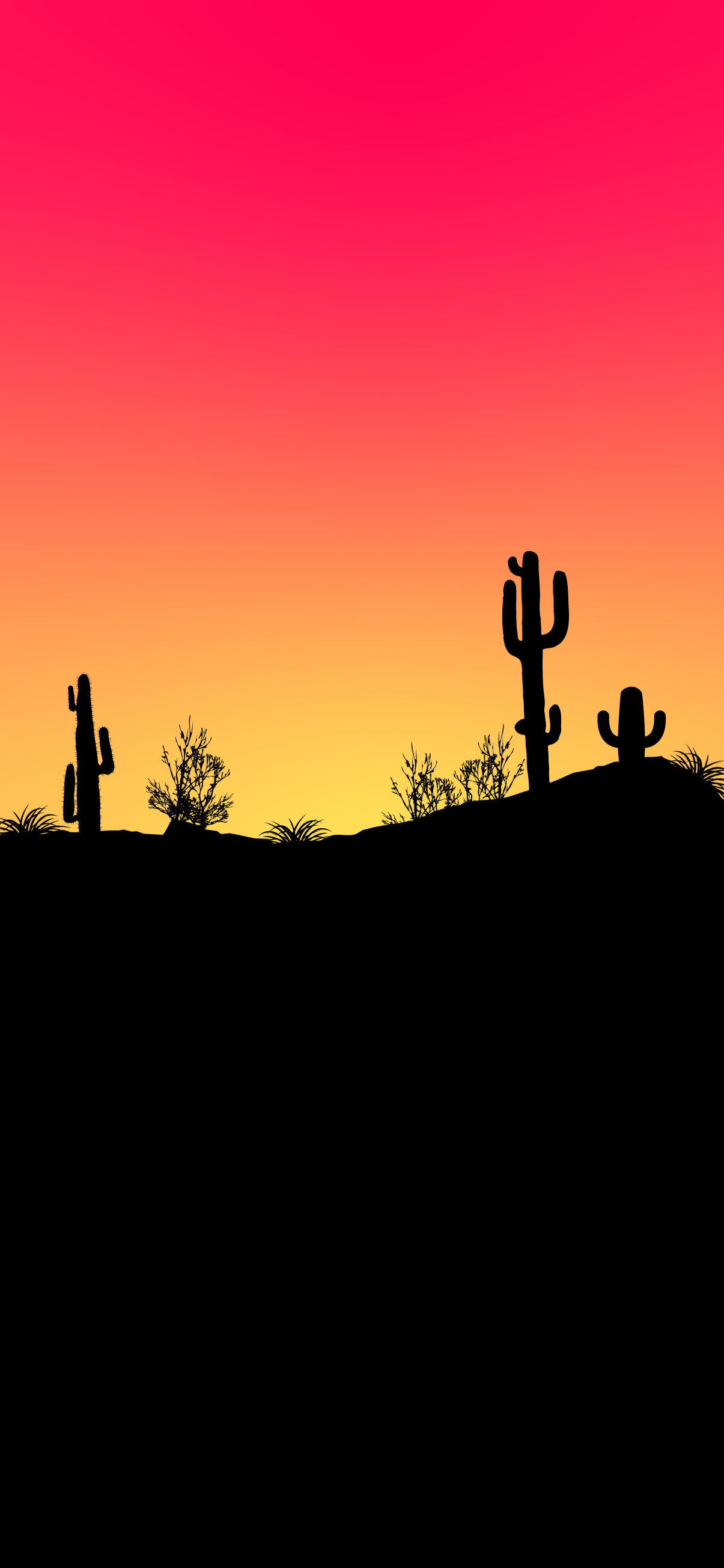 minimalist wallpaper iphone 4k desert