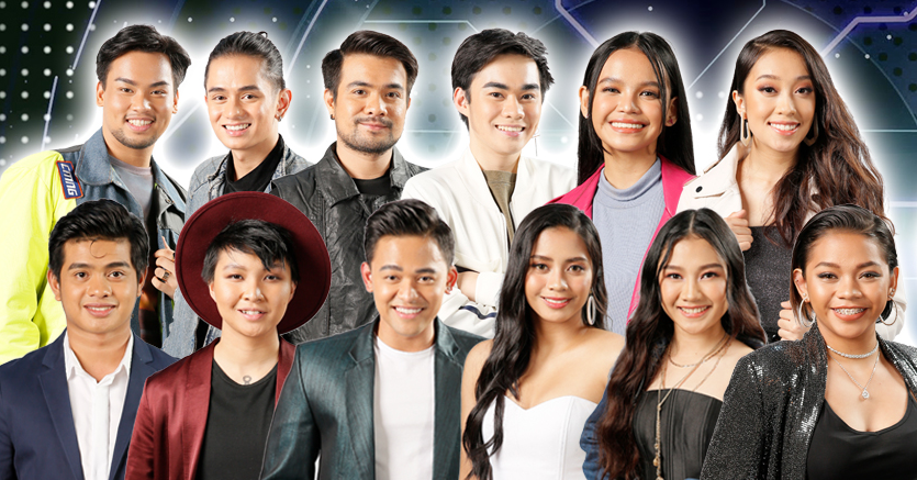 Meet the Top 12 contenders in the Search for Idol Philippines.