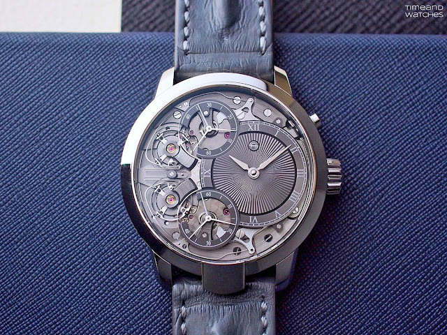 Armin Strom Mirrored Force Resonance with guilloché dial