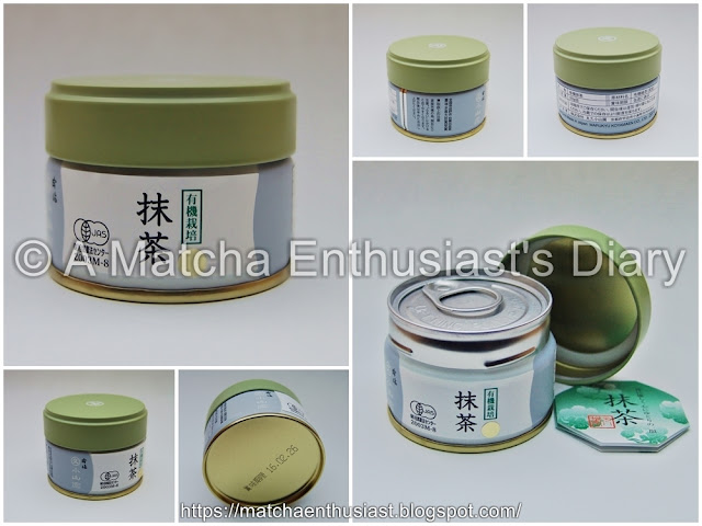 Matcha tin of Organically cultivated Matcha Gold