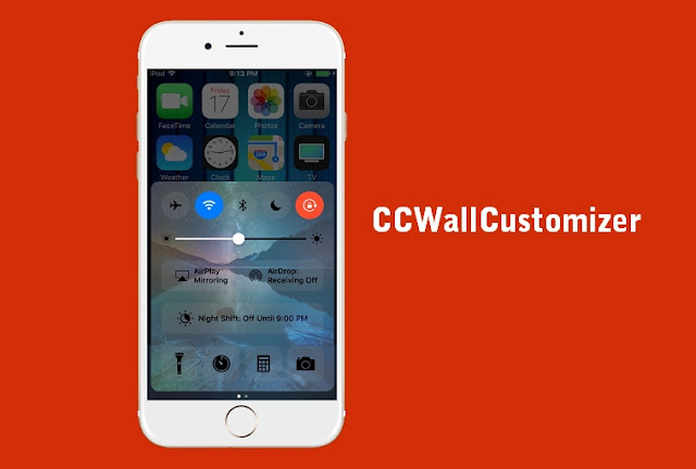 A new jailbroken cydia tweak called CCWallCustomizer by iKilledAppl3, lets you change and customize the background of your Control Center on iOS 10