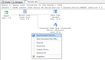 how to see SQL Query execution plan in Microsoft SQL server