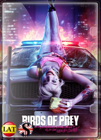 Aves de Presa y la Fantabulosa Emancipación de Una Harley Quinn (2020) FULL HD 1080P LATINO/INGLES