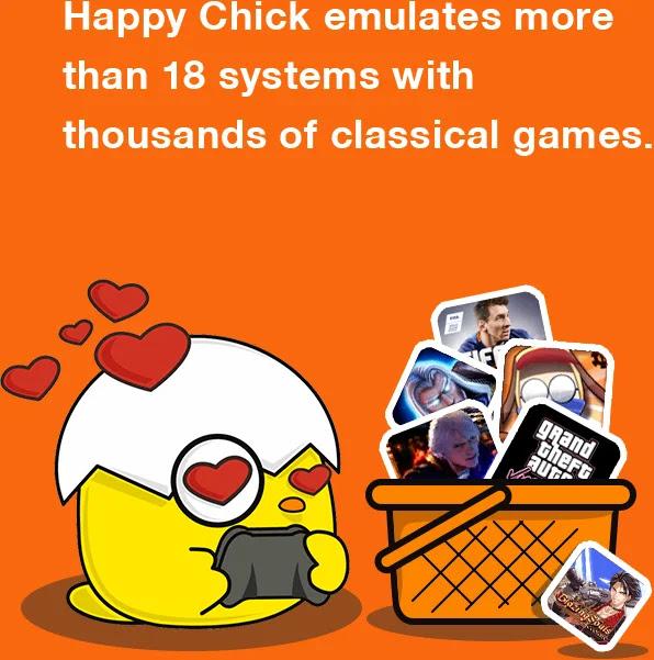 تنزيل برنامج هابي شيك للاندرويد Happy Chick Apk