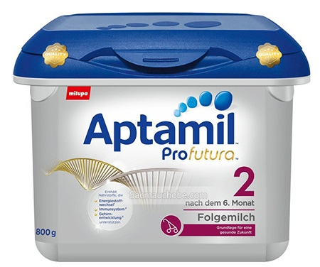 Sữa Aptamil Profutura 2 hộp 800g nhập khẩu chính hãng Đức