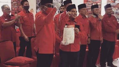 SK DPP PDIP Rekomendasi Zukri - Nasarudin, Isu Tudingan Tidak Maju Terjawab
