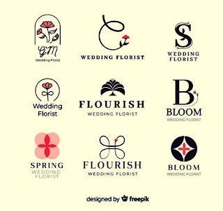 Desain Logo Olshop Florist