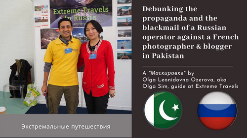 Russian Extreme Travels, Lahore