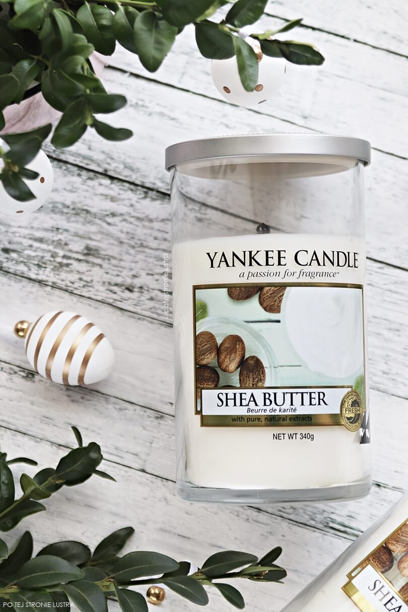 yankee candle shea butter pillar