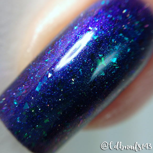 Supernatural Lacquer-Cosmic Peacock