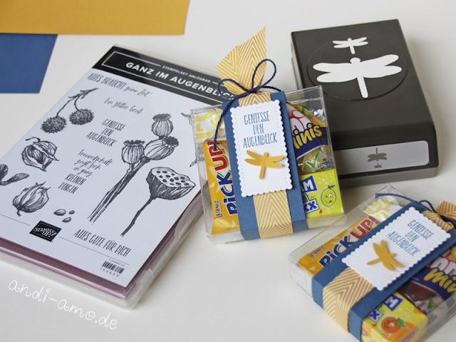 Goodie Box mit Süßem Stampin Up Ganz im Augenblick