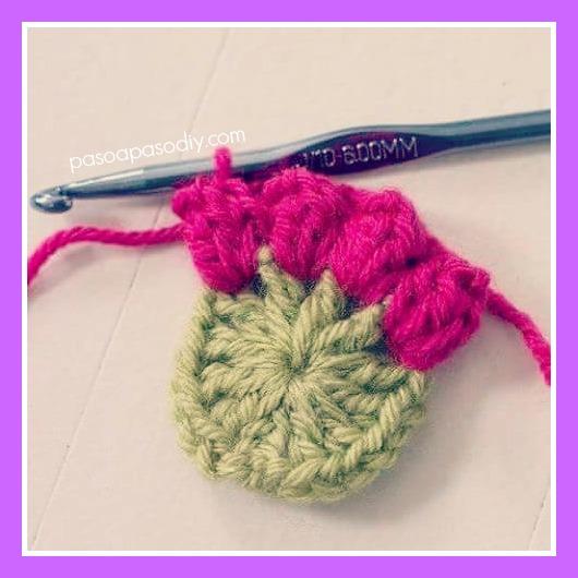 cómo tejer un granny al crochet paso a paso
