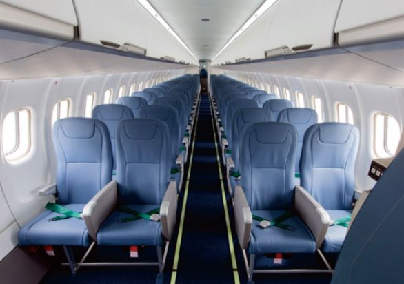 ATR 72-600 interior
