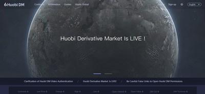 Huobi presentó su mercado de derivados en un acto en Nueva York