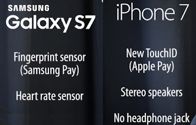 headphone sumsung vs iphone
