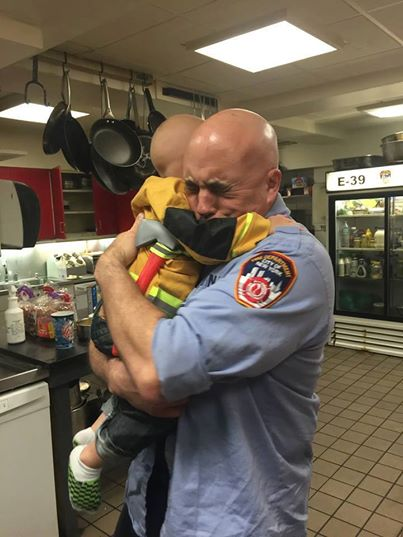Bill McAllister Realizes A Childhood Dream Of Being A Firefighter