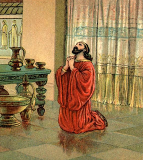 Nehemiah praying - Nehemiah 1