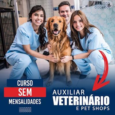 Auxiliar Veterinário e Pet Shop