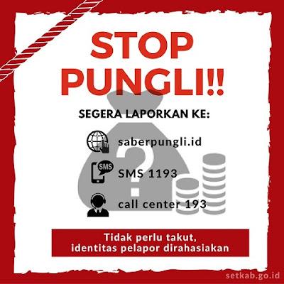 Dibuka 3 Saluran Komunikasi, Lapor Pungli Dapat Diakses di Saberpungli.id
