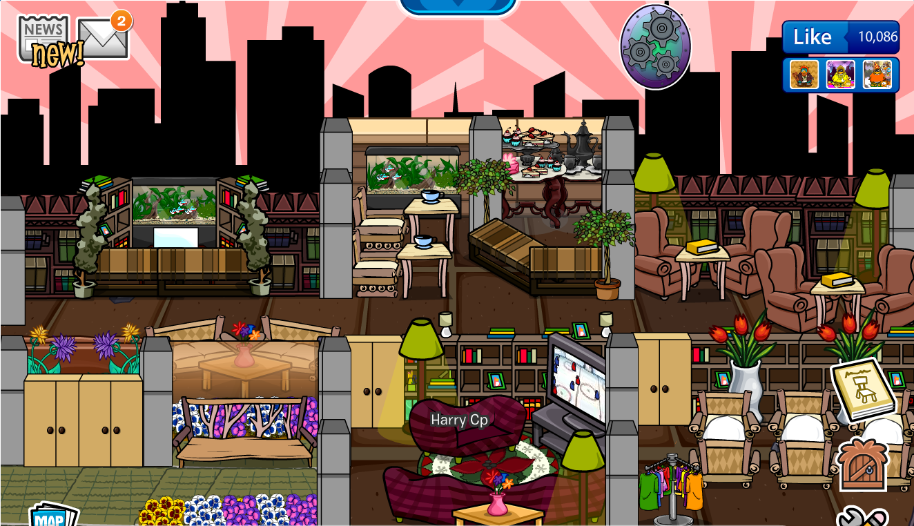 Club Penguin Igloo Ideas: November 2015