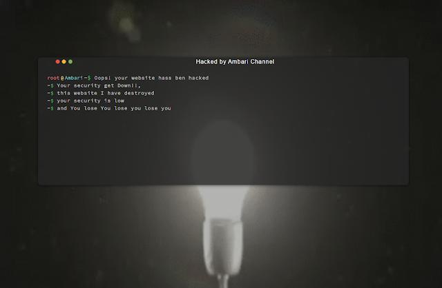 Download Kumpulan Script Deface Keren Terbaru