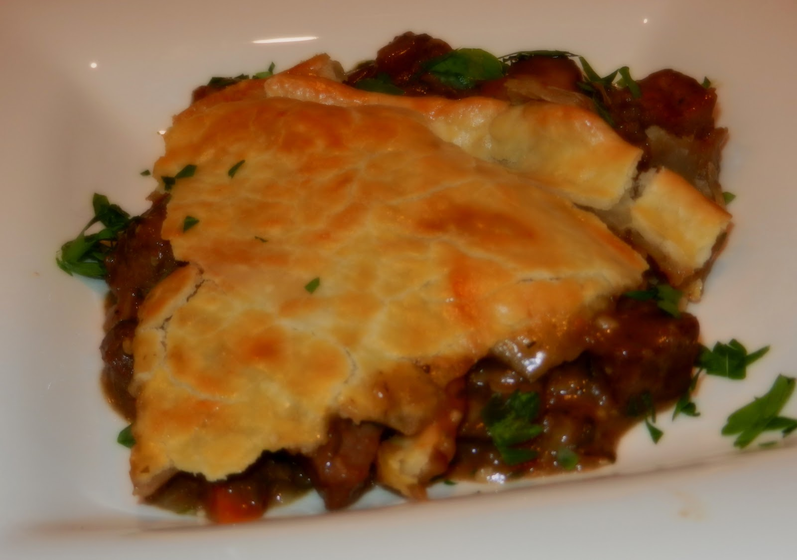 Steak And Mushroom Pie - melissassouthernstylekitchen.com
