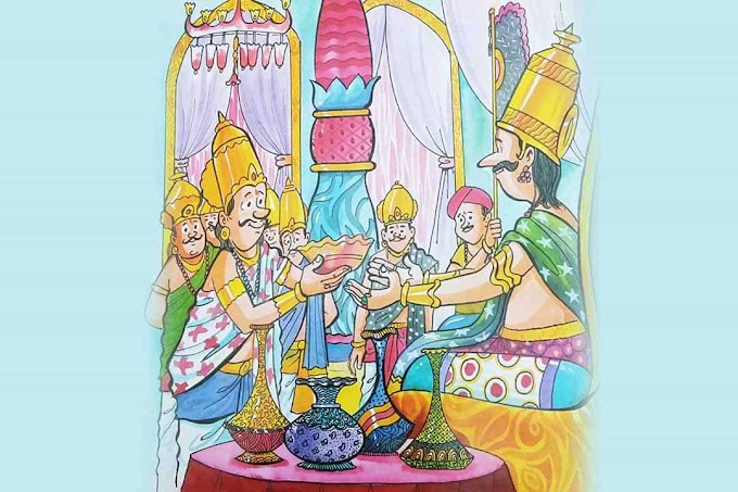 CAN A FLOWER VASE TAKE SOMEONE'S LIFE?  (Story of Tenalirama)
