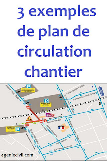 plan de circulation chantier de construction, exemple plan de circulation chantier, plan de circulation sur un chantier,