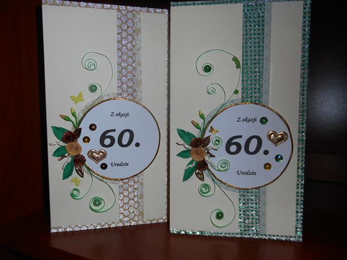 kartki na 60 urodziny
