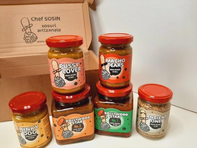 Tasty & Nasty- Sosuri și   muștaruri artizanale de la Chef Sosin