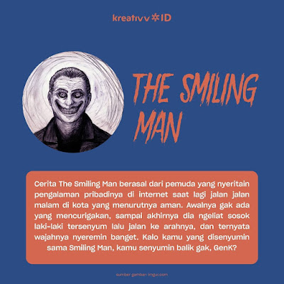 Makhluk Seram Mengerikan THE SMILING MAN