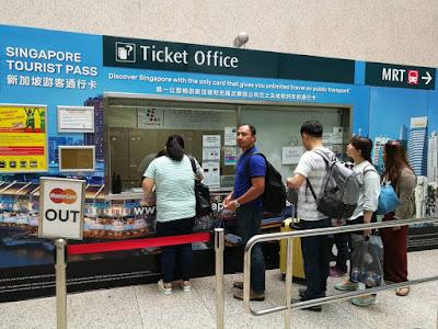 Terminal 2 untuk anda dapatkan tiket Tourist Pass
