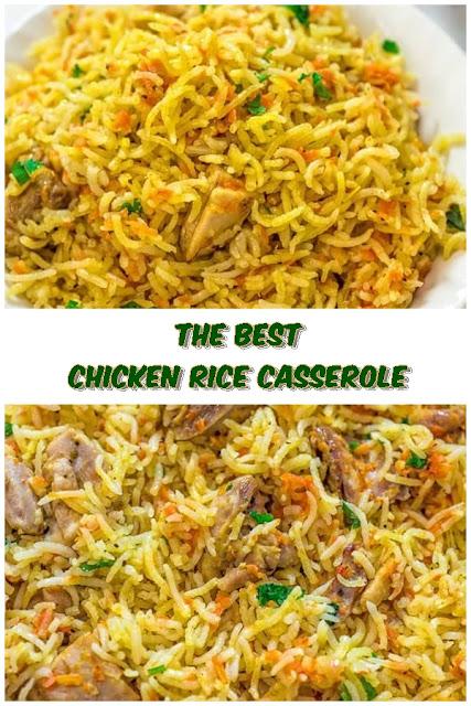 #Chicken #Rice #Casserole #chickenrecipes #recipes #dinnerrecipes #easydinnerrecipes