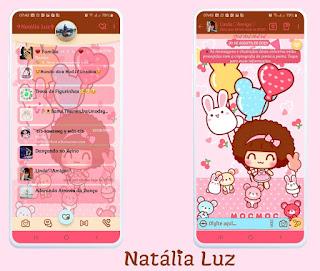 Girls & Teddy Bear Theme For YOWhatsApp & Fouad WhatsApp By Natalia Luz