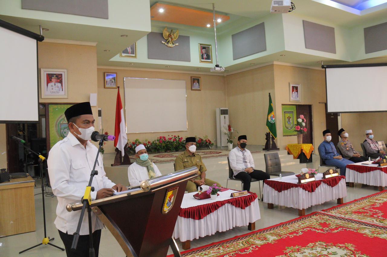Lepas Tim Safari Ramadhan 1442 Hijriah,  Ini Pesan yang Disampaikan Bupati Sergai
