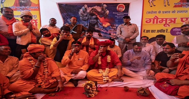 Covid 19; Hindu Mahasabha with new proposal after Gomutra Party By doing so, you can prevent the corona,www.thekeralatimes.com