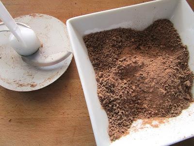 Bizcocho de patata y chocolate (Siempredulces) - Elaboración Paso 2