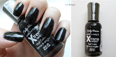 black out nail polish