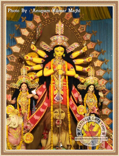 2016 Diamond Harbour Durga Murti Photo in Kolkata - WhatsApp Photos