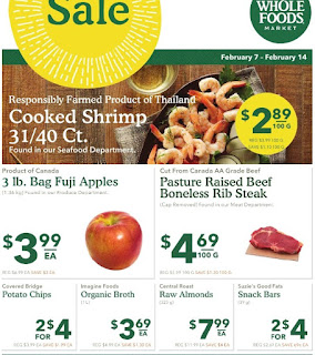 Whole Foods Canada Flyer February 7 - 14, 2018