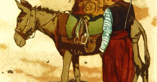 Tema 1 yang berjudul hidup rukun, terdapat pada buku tematik. Kuda dan Keledai yang Sarat dengan Beban (Halaman 96