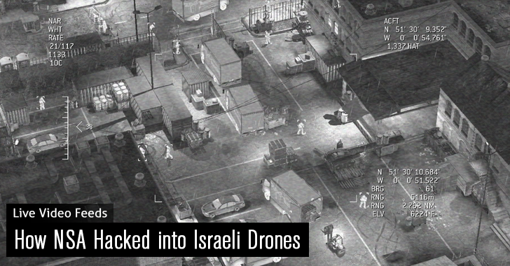 How Spy Agencies Hacked into Israeli Military Drones to Collect Live Video Feeds