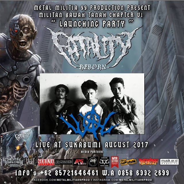 Militian Bawah Tanah Chapter VI :  Launching PartyAlbum Perdana Fatality - Reborn