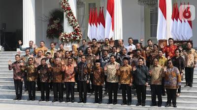 Latar Belakang Para Menteri Presiden Jokowi dan Susunan Nama-Nama Menteri Kabinet Indonesia Maju 2019-2024