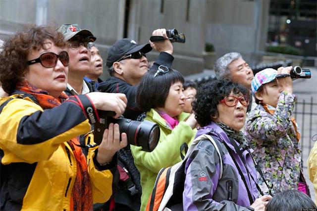 Китайских туристов приезжает в Лавру больше, чем россиян Сергиев Посад