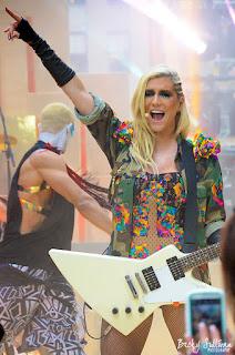 Kesha was intense