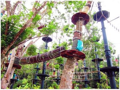 Bersantai Bersama Family Di ESCAPE Penang Theme Park
